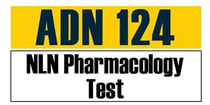 Picture of ADN 124 - NLN Pharmacology Test